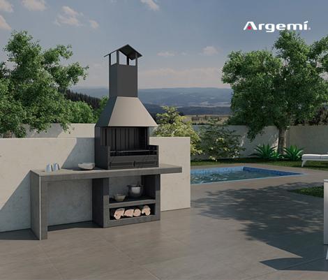 Mallorca LI Barbecue design - Argemi prefabricatsArgemi prefabricats
