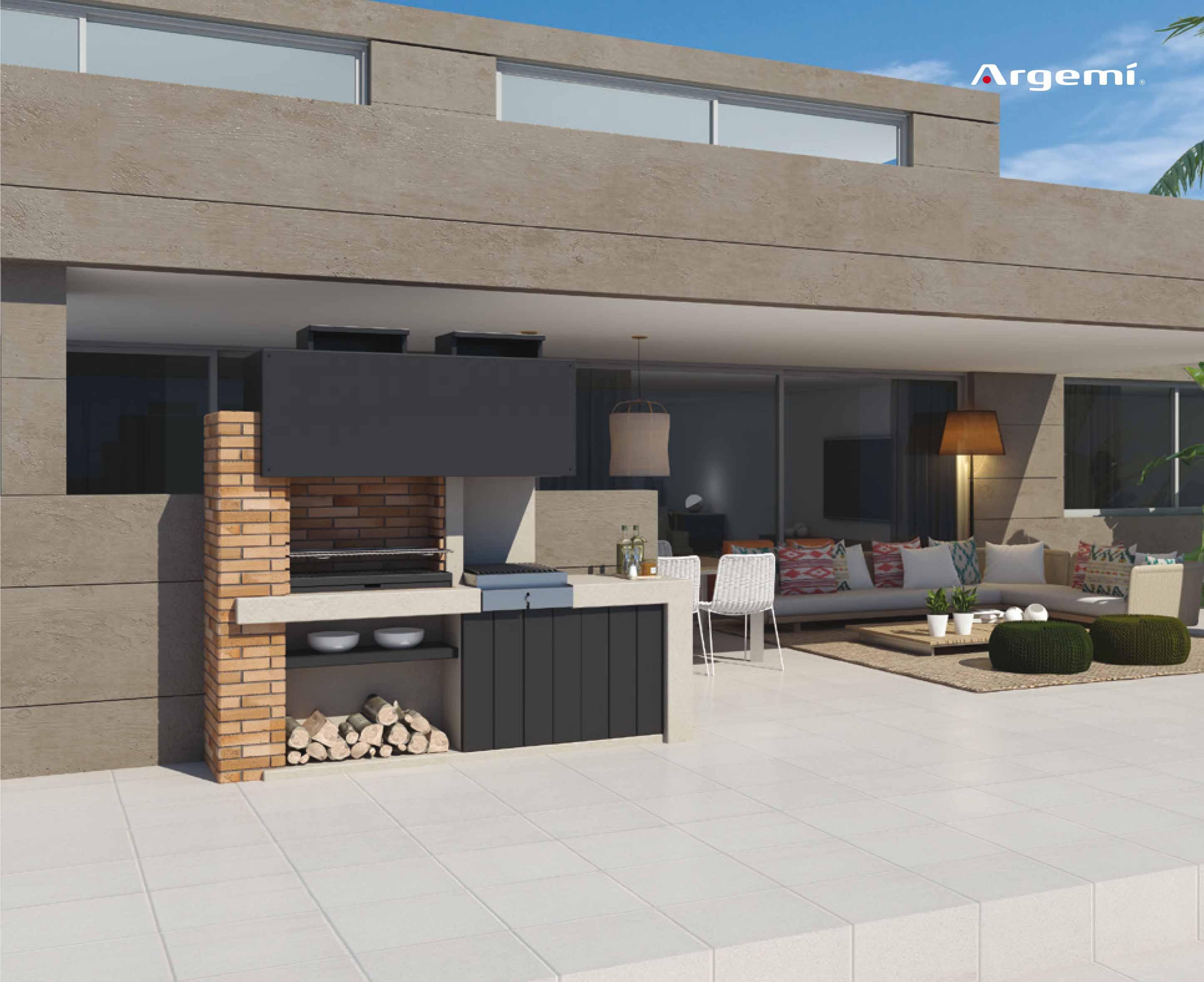 Barcelona barbacoes de disseny argemi prefabricats for Barbacoas de exterior