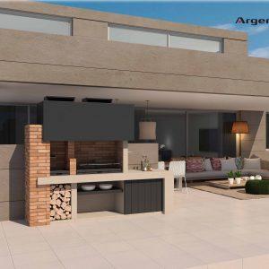 Barcelona barbacoa de diseño