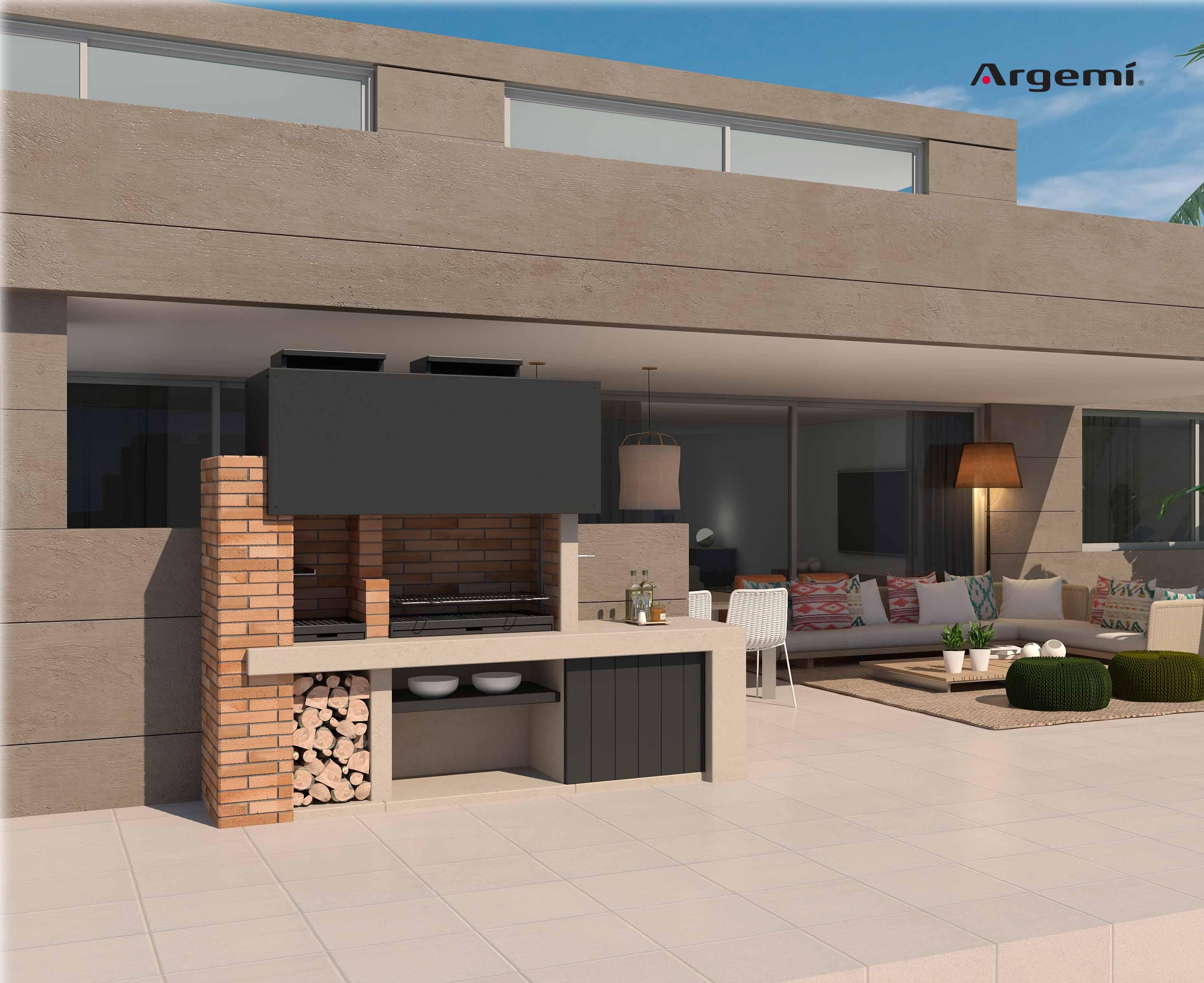 Barcelona Barbecue design - Argemi prefabricatsArgemi prefabricats
