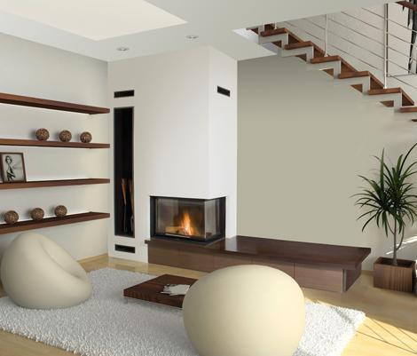 Chimeneas rustica y modernas argem argemi for Chimeneas de obra modernas